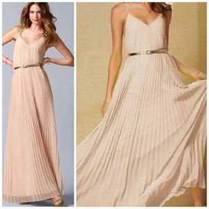 Victoria's Secret Knife Pleated Maxi Dress Size L